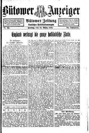 Bütower Anzeiger vom 15.03.1918