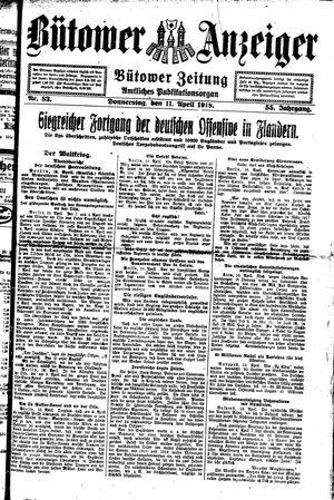 Bütower Anzeiger vom 11.04.1918