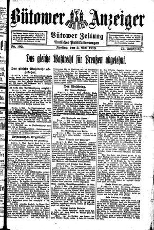 Bütower Anzeiger vom 03.05.1918