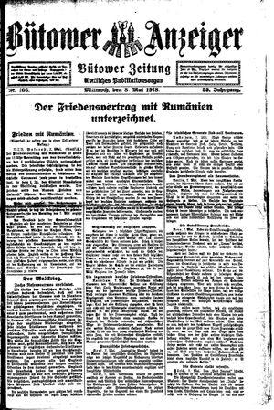 Bütower Anzeiger vom 08.05.1918