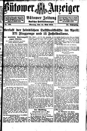 Bütower Anzeiger vom 13.05.1918
