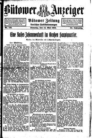 Bütower Anzeiger vom 14.05.1918