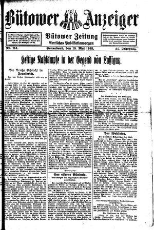 Bütower Anzeiger vom 18.05.1918