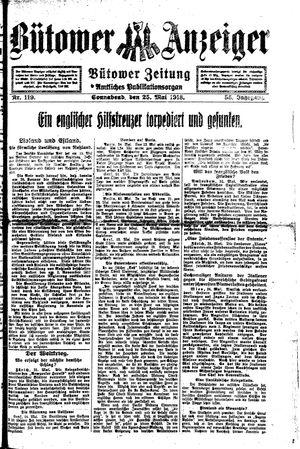 Bütower Anzeiger vom 25.05.1918