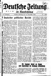 Deutsche Zeitung in Nordchina