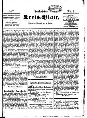 Frankensteiner Kreisblatt vom 03.01.1877