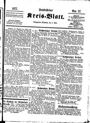 Frankensteiner Kreisblatt vom 09.05.1877
