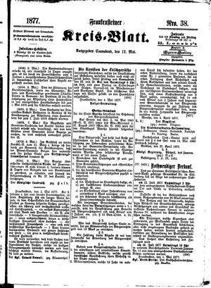 Frankensteiner Kreisblatt vom 12.05.1877