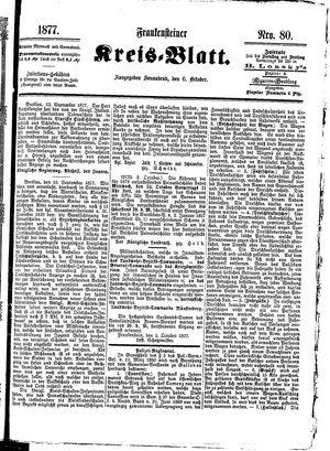 Frankensteiner Kreisblatt vom 06.10.1877