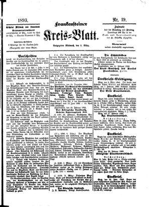 Frankensteiner Kreisblatt vom 08.03.1893