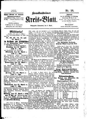 Frankensteiner Kreisblatt vom 08.04.1893