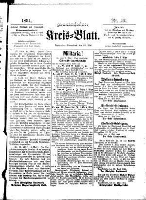 Frankensteiner Kreisblatt vom 26.05.1894