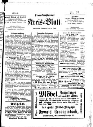 Frankensteiner Kreisblatt vom 09.06.1894
