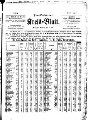 Frankensteiner Kreisblatt vom 04.07.1894
