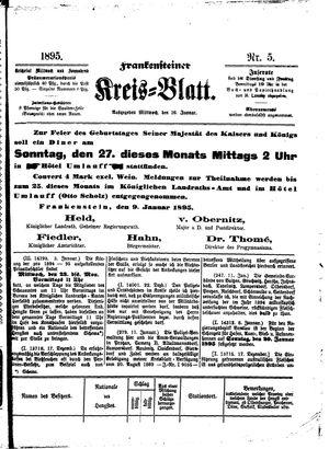 Frankensteiner Kreisblatt vom 16.01.1895
