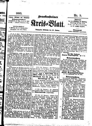 Frankensteiner Kreisblatt vom 30.01.1895