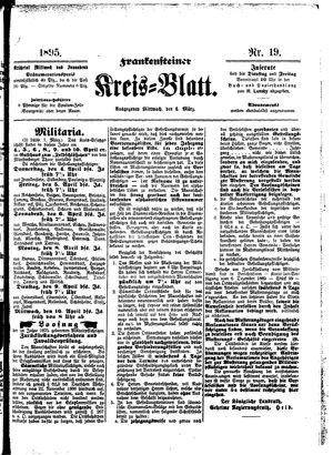 Frankensteiner Kreisblatt vom 06.03.1895