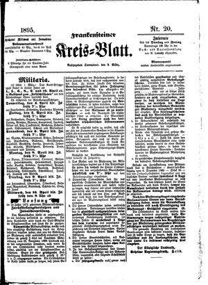 Frankensteiner Kreisblatt vom 09.03.1895