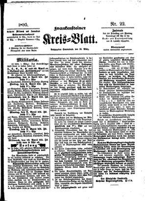 Frankensteiner Kreisblatt vom 16.03.1895