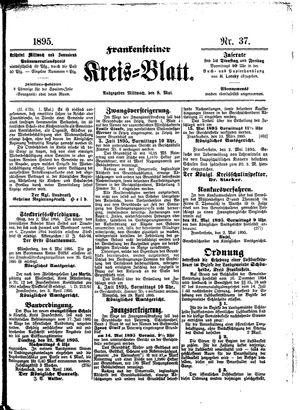 Frankensteiner Kreisblatt vom 08.05.1895