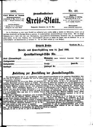 Frankensteiner Kreisblatt vom 18.05.1895