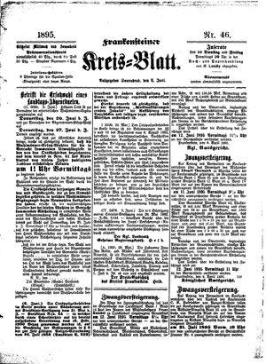 Frankensteiner Kreisblatt vom 08.06.1895