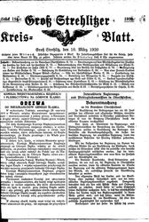 Groß-Strehlitzer Kreisblatt