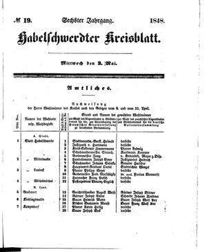 Habelschwerdter Kreisblatt vom 03.05.1848