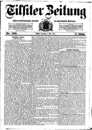 Tilsiter Zeitung on May 1, 1894