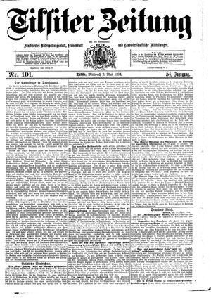 Tilsiter Zeitung vom 02.05.1894
