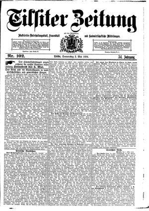 Tilsiter Zeitung vom 03.05.1894