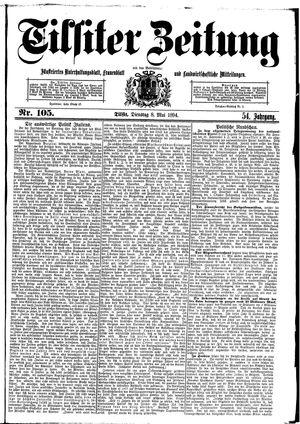 Tilsiter Zeitung vom 08.05.1894