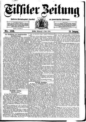 Tilsiter Zeitung on May 9, 1894