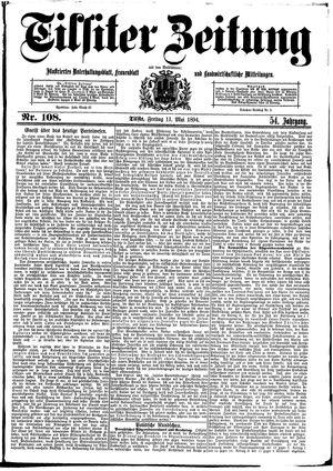 Tilsiter Zeitung vom 11.05.1894