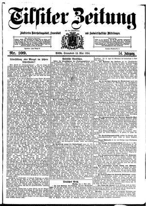 Tilsiter Zeitung on May 12, 1894
