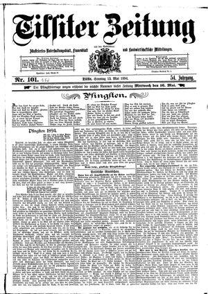 Tilsiter Zeitung vom 13.05.1894