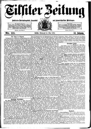 Tilsiter Zeitung vom 16.05.1894