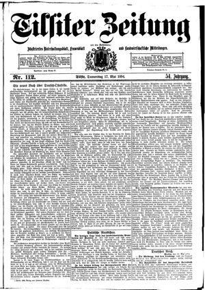 Tilsiter Zeitung vom 17.05.1894