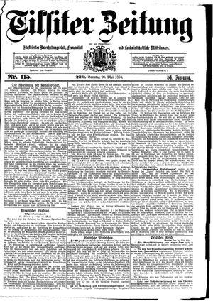 Tilsiter Zeitung vom 20.05.1894