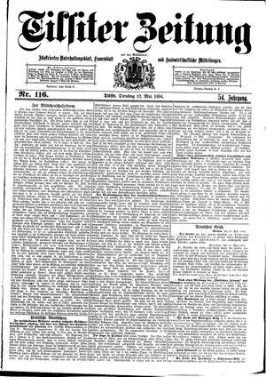 Tilsiter Zeitung vom 22.05.1894