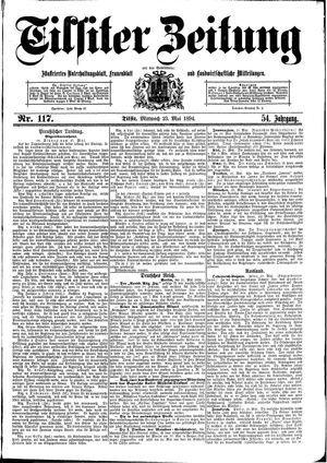 Tilsiter Zeitung vom 23.05.1894