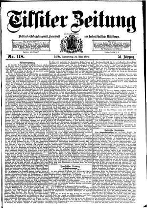 Tilsiter Zeitung vom 24.05.1894