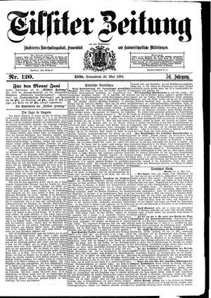 Tilsiter Zeitung vom 26.05.1894