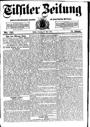 Tilsiter Zeitung vom 27.05.1894