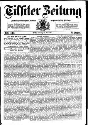 Tilsiter Zeitung vom 29.05.1894