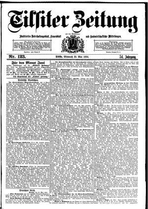 Tilsiter Zeitung vom 30.05.1894