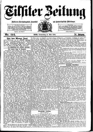 Tilsiter Zeitung vom 31.05.1894