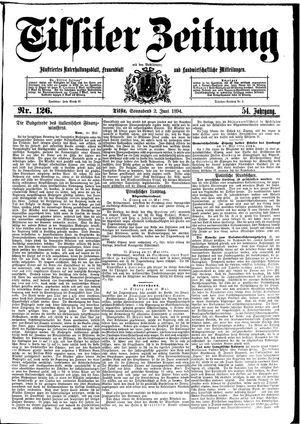 Tilsiter Zeitung vom 02.06.1894