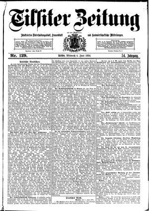 Tilsiter Zeitung vom 06.06.1894