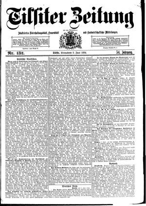 Tilsiter Zeitung vom 09.06.1894